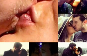 Malia & MJ Hot Kisses Collage