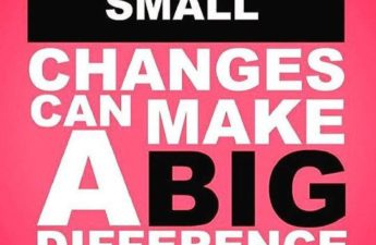Small Changes Can Make A Big Difference Quote Picture